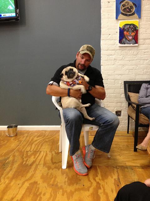 The Pug Meet Up. I'm a Loner Dottie. (4/6)