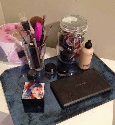 Let's look at my face - MAC makeover. (6/6)