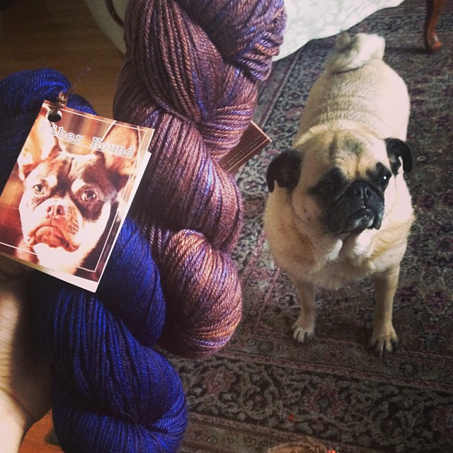 Yarnbox and Fiberhound delivery came!