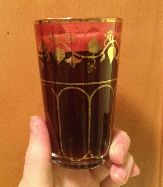 Moroccan Coffee Glass.
