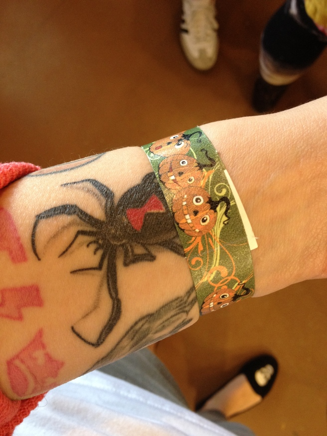 I was marked by the Patch, but my METAL SPIDER was still keeping me focused on my job for the WITCHZARD PUG.