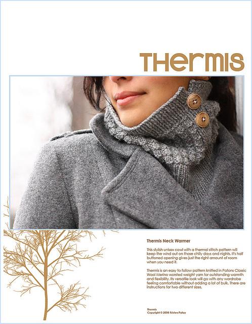 Kris Knit's Thermis Cowl