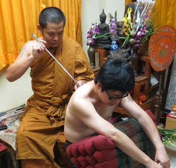 Ajarn Bpom Sak Yant Tattoo Master