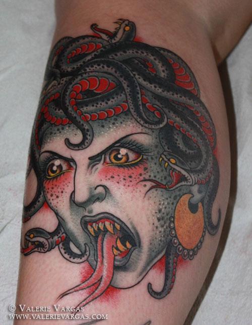 Medusa head by Valerie Vargas