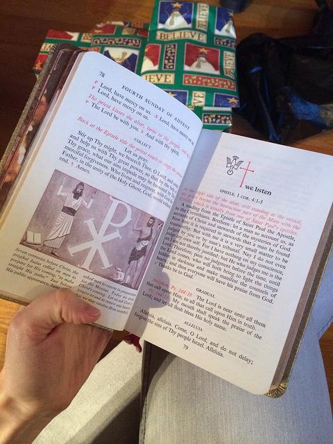 Nita's Mass Book.