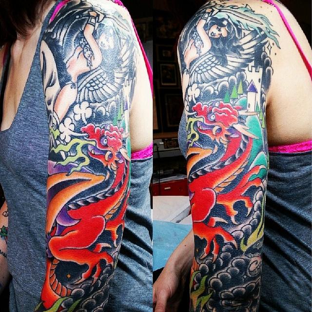 Filled in that Dragon by Alisha Rice @alisharice