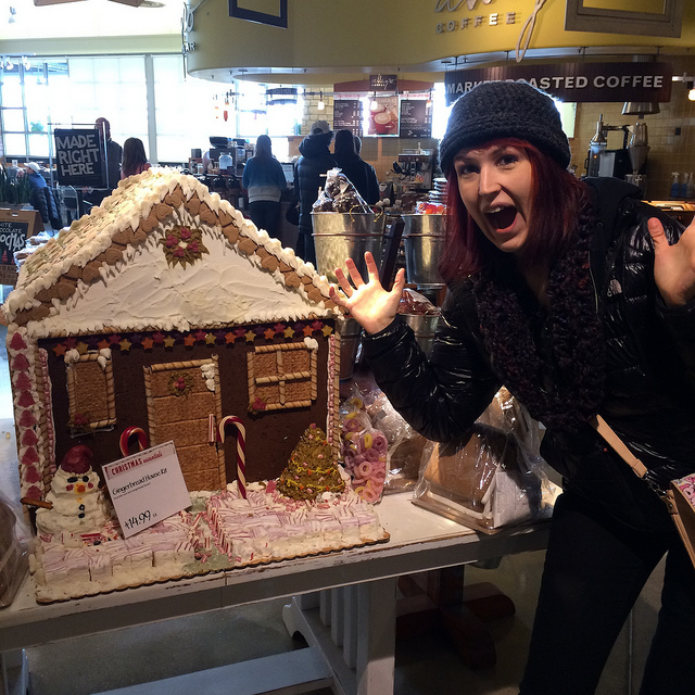 Biggest Gingerbread house EVER.