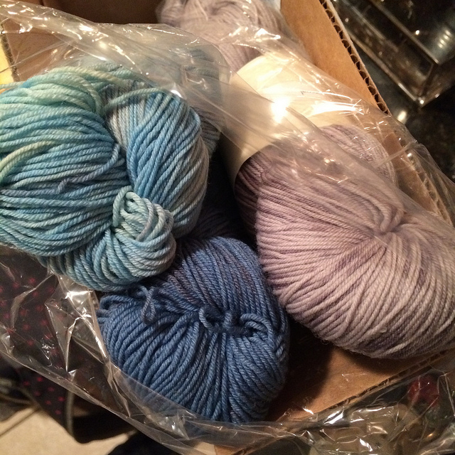December YarnBox delivery! So stoked.