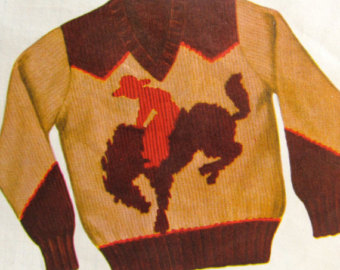 This is for a child. I'm thinking it would look awesome as vest. (no one wants to knit sleeves - especially for my ape like arms)